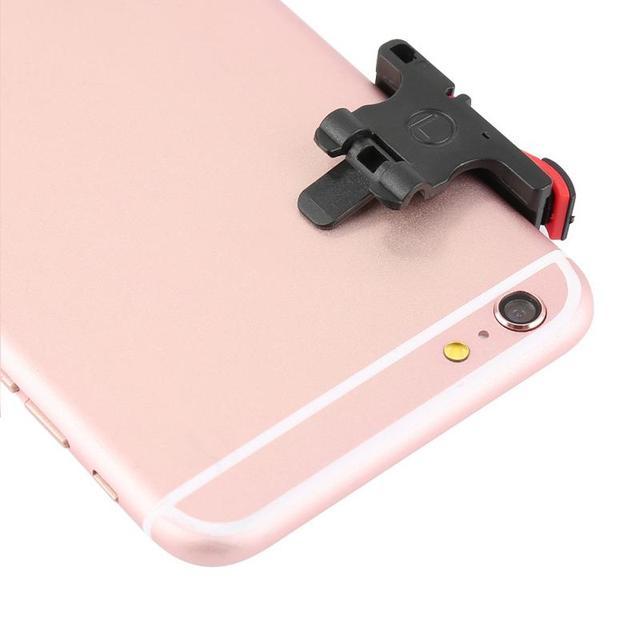 Phone Gamepad 1 PCS Trigger Shooting Aim Key Fire Button Aim Key L1R1 Shooter Game Controller PUBG FUT1 Mobile Phone 10