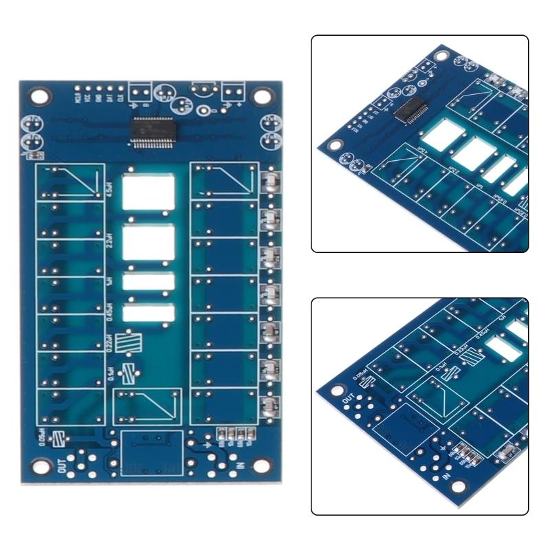 ATU-100 Mini DIY Kits Automatic Antenna Tuner by N7DDC 7 Capacitors 7 Coils 100W
