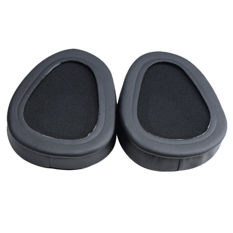 XQ  The headphones replace the foam cushion of Skullcandy Aviator 2.0 ear pads with soft protein sponge sleeves for comfort enlarge