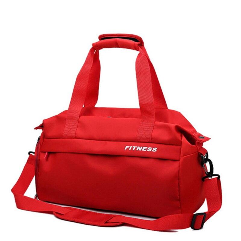 Dihope 2020, Bolsa De gimnasio negra y roja, bolsas deportivas impermeables con compartimentos para zapatos De mujer para entrenamiento De Fitness, Bolsa De deporte para Yoga