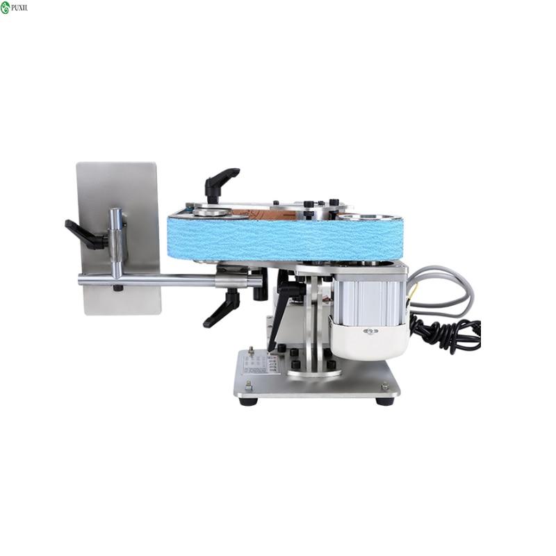 متعددة الوظائف الصناعية الصف حزام صغير الرملي آلة 220 فولت/750 واط زاوية طاحونة تلميع وطحن أدوات