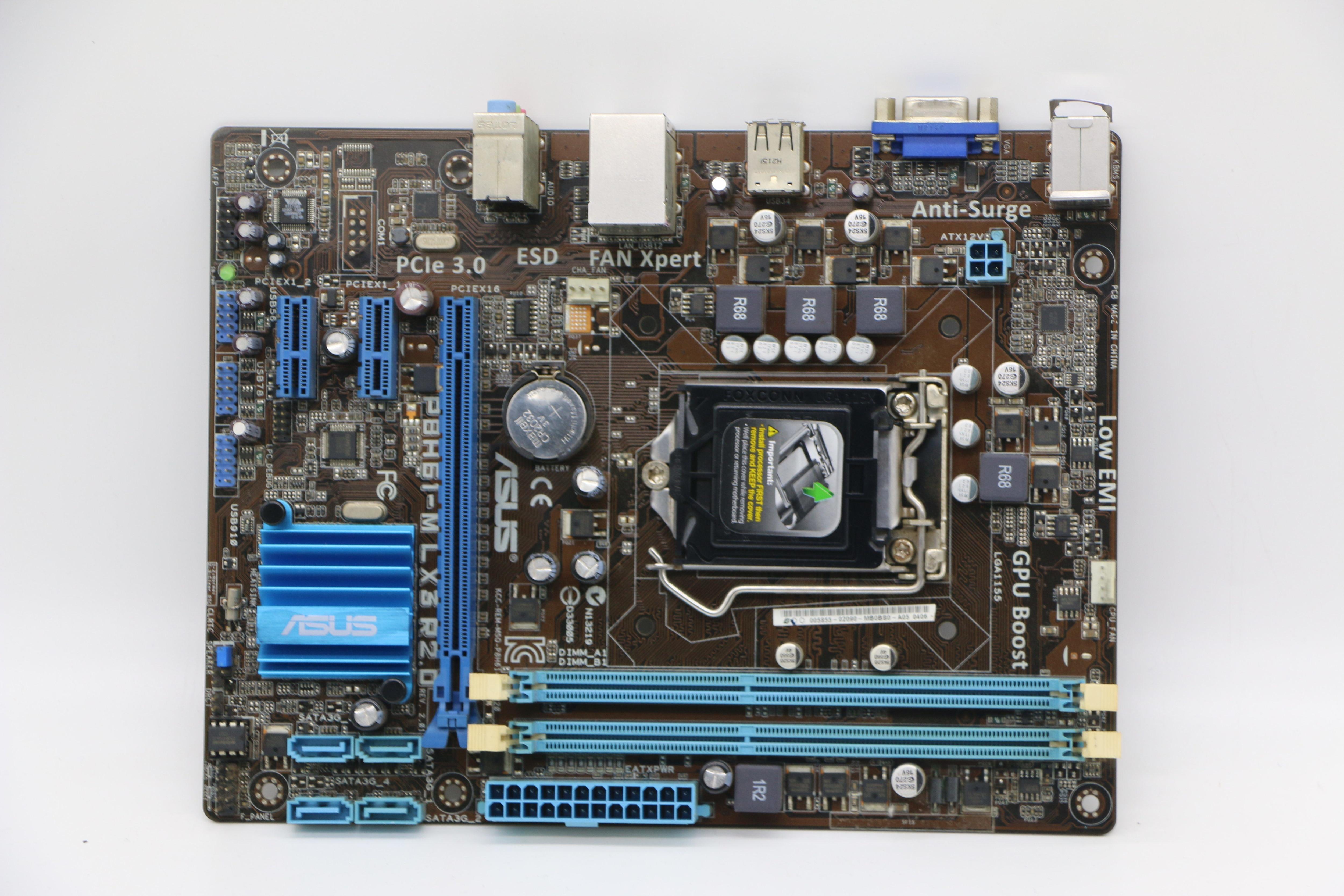 Asus P8H61-M LX3 R2.0 PC de escritorio placas base H61 Socket LGA...