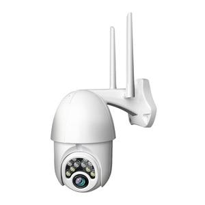 1080p IP Camera Onvif Wi-Fi CCTV IR Camera Outdoor Security Surveillance IP Camara Exterior TF Card Audio & Night Vision