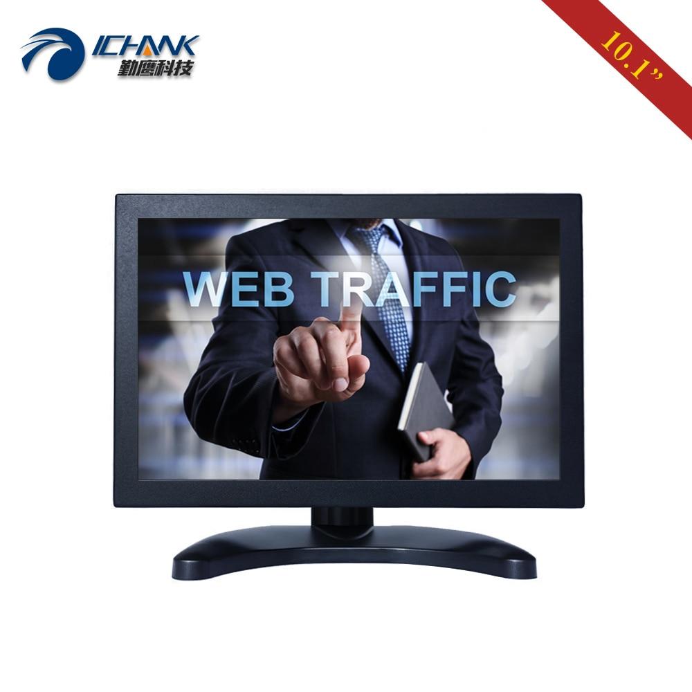 "ZB101TC-59R/10,1 ""pulgadas 1280x800x1080 p HDMI USB VGA Anti-interferencia carcasa de Metal Industrial pantalla táctil LCD PC Monitor"