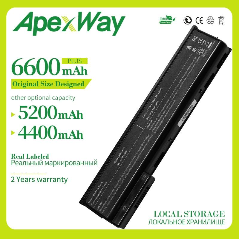 Apexway 11.1V 4400mAh بطارية كمبيوتر محمول HSTNN-I16C HSTNN-DB4Y CA06XL 71004 ل HP ProBook CA06 CA09 640 G0 G1 645 655 650 سلسلة