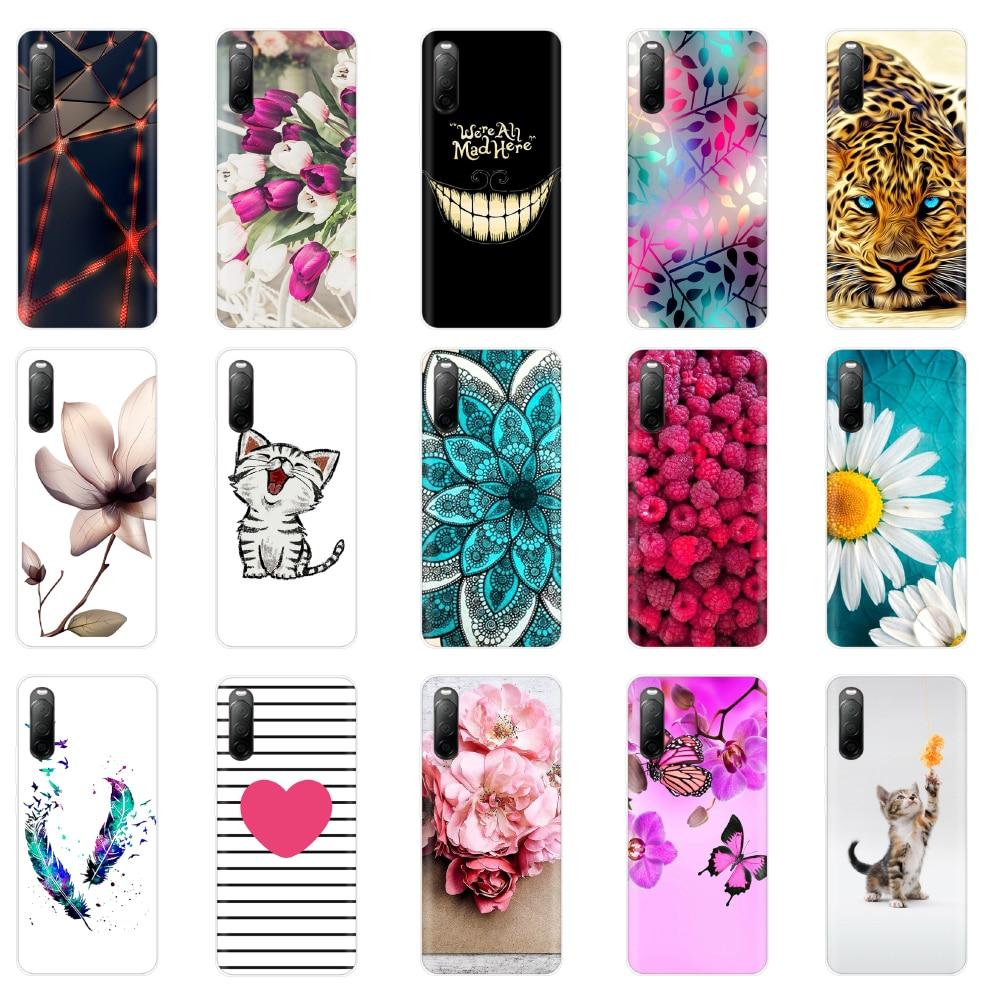 Silicon2 Case for Sony Xperia 10 II Caso Tpu Macio Back Cover Caixa Do Telefone para Sony Xperia10 II À Prova de Choque de Volta capa Shell Bumper