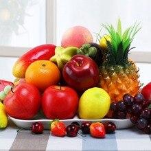 1pc faux Fruits pour mariage décoration et photographie accessoires cuisine accessoires décoration maison Fruits artificiels décor à la maison