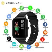 KESHUYOU G16 2021 Smart Watch Men Temperature Full Touch Heart Rate Music Fitness Tracker Sport Wome