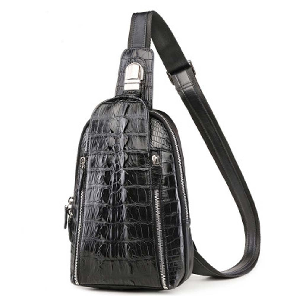 xingmengda new arrival crocodile men chest bag male  fashion  new  Inclined shoulder bag  men chest bag