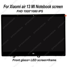 "13.3 ""für XIAOMI MI NOTEBOOK AIR 13 LQ133M1JW15 laptop bildschirm IPS LED LCD panel display MATRIX MONITOR FHD IPS EDP 30 PIN Glas"