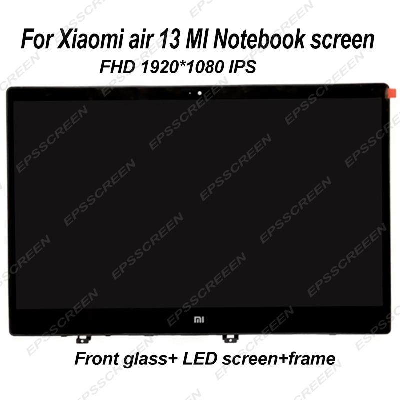 133 para xiaomi mi notebook air 13 laptop de alta qualidade tela ips led painel de