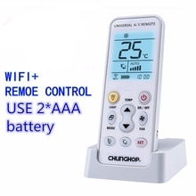 Heißer Chunghop K-390Ew Wifi Smart Universal Lcd Klimaanlage A/C Fernbedienung Controller Eu Stecker