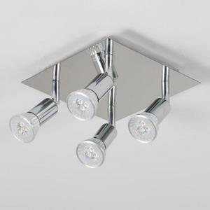 Square Led Ceiling Lamp Gu10 12w Living Room Decorative Ceiling Light Decorations For Home  Living Room Lighting