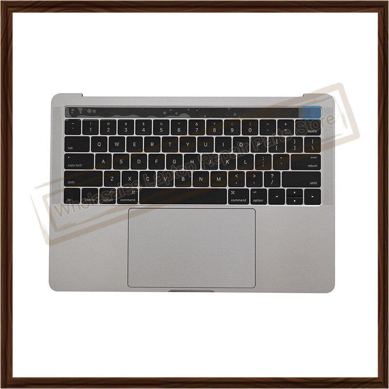 """Original nuevo gris A1706 reposamanos para Macbook Pro 13 """"A1706 Palmrest Topcase US teclado retroiluminación Trackpad ventilador batería altavoz"""