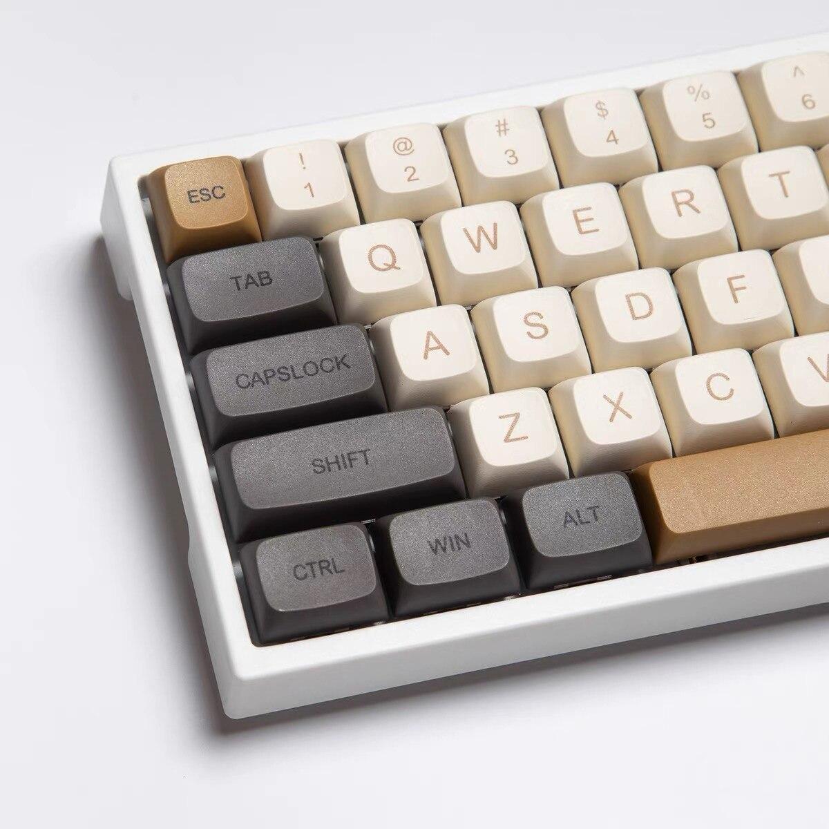125 مفاتيح/مجموعة ضوء الموضوع PBT صبغ سوبيد مفتاح قبعات ل MX التبديل الميكانيكية لوحة المفاتيح XDA الشخصي Keycap ل 68 84 96 980 متر