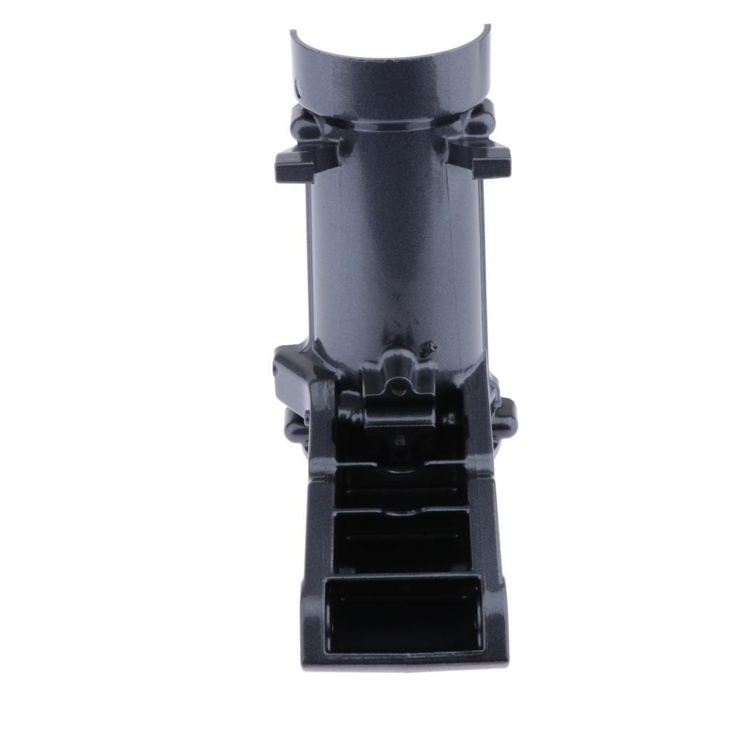 Soporte giratorio para motor fueraborda Yamaha 4HP 5HP, Metal resistente, negro