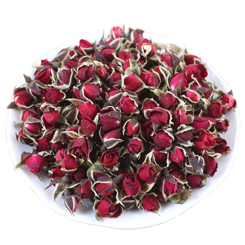 Envío Gratis, brotes de Rosa seca Natural de 110g, brotes fragantes Biger, brotes de flores secas orgánicas naturales, rosa roja