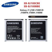SAMSUNG Original EB-BJ100CBE EB-BJ100BBE Batterie 1850mAh Pour Samsung Galaxy J1 J100 SM-J100F J100FN J100H J100M J100Y J100D NFC