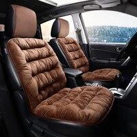 car seat cushion winter car cover car seat covers short plush warm car interior supplies cover auto accessories thicken