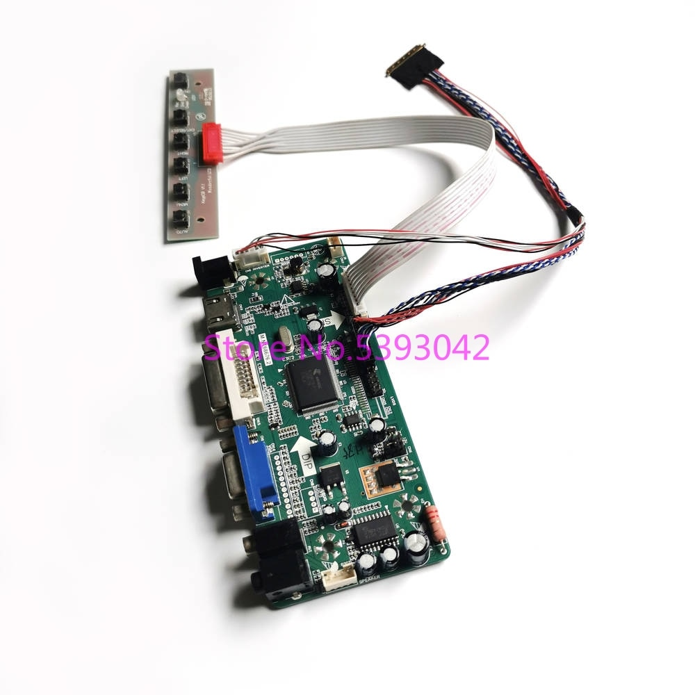 ل LP140WH2 (TL)(S1)/(TL)(S2)/(TL)(S3)/(TL)(SA) شاشة VGA + DVI WLED LCD 40-Pin 1366*768 LVDS M.NT68676 بطاقة وحدة التحكم عدة