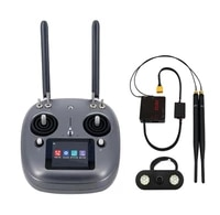 siyi vd32 radio transmitter remote controller 2 4g 16ch 3 in 1 integrated datalink s bus vtx for fpv agricultural spray drone