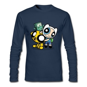 Puff Buds T Shirt Custom Long Sleeve T Shirt Men New Funko Pop Cotton Crewneck Game T Shirts For Boys