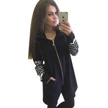 MVGIRLRU basic jacket Hoodies sweatshirts letter printed zipper irregular coats sportswear