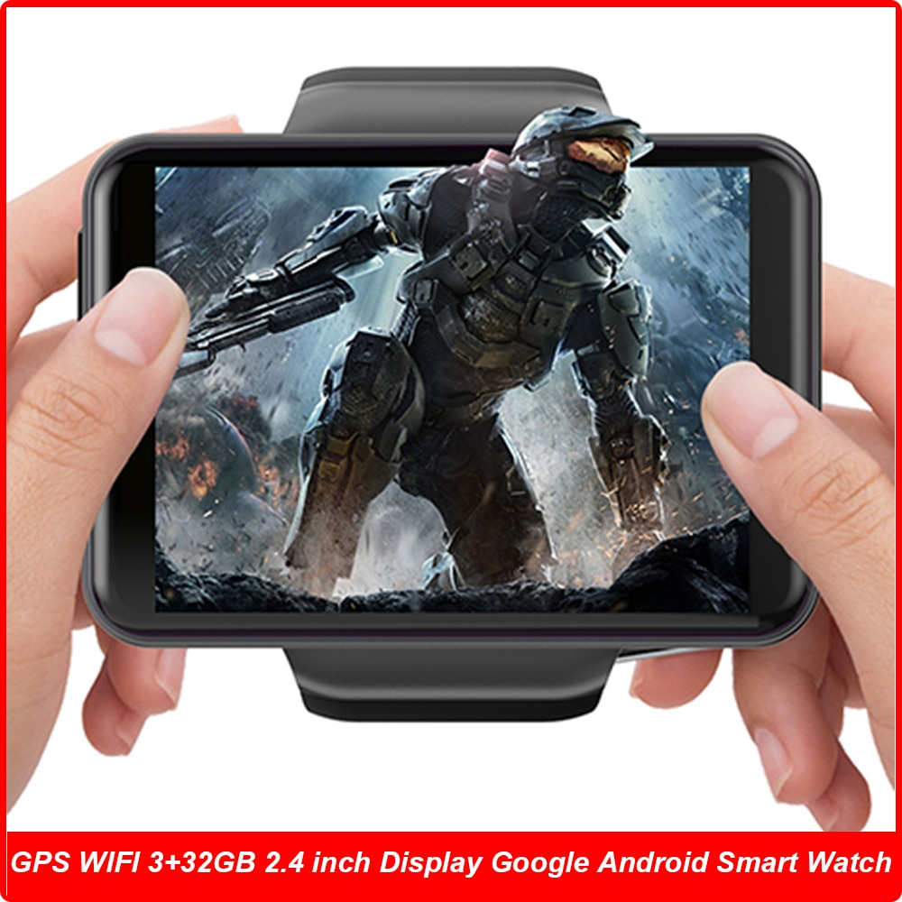 Review 4G Android Relógios Inteligentes Smart Watches Phone Game 3GB 32GB 8MP Dual Camera GPS WIFI Smartwatch For Men Husband Boy Gift