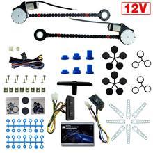 1 Set Ausländischen UNS DE ES AU Universal 12V Auto Electric Power Fenster Lift Regler Conversion Kit für 2 tür Auto Lkw SUV
