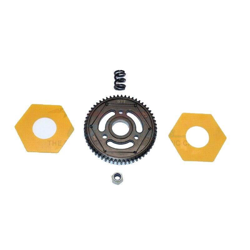 Engranaje recto GPM STEEL #45 (57T) para actualización AXIAL SCX10 II 90047 RC