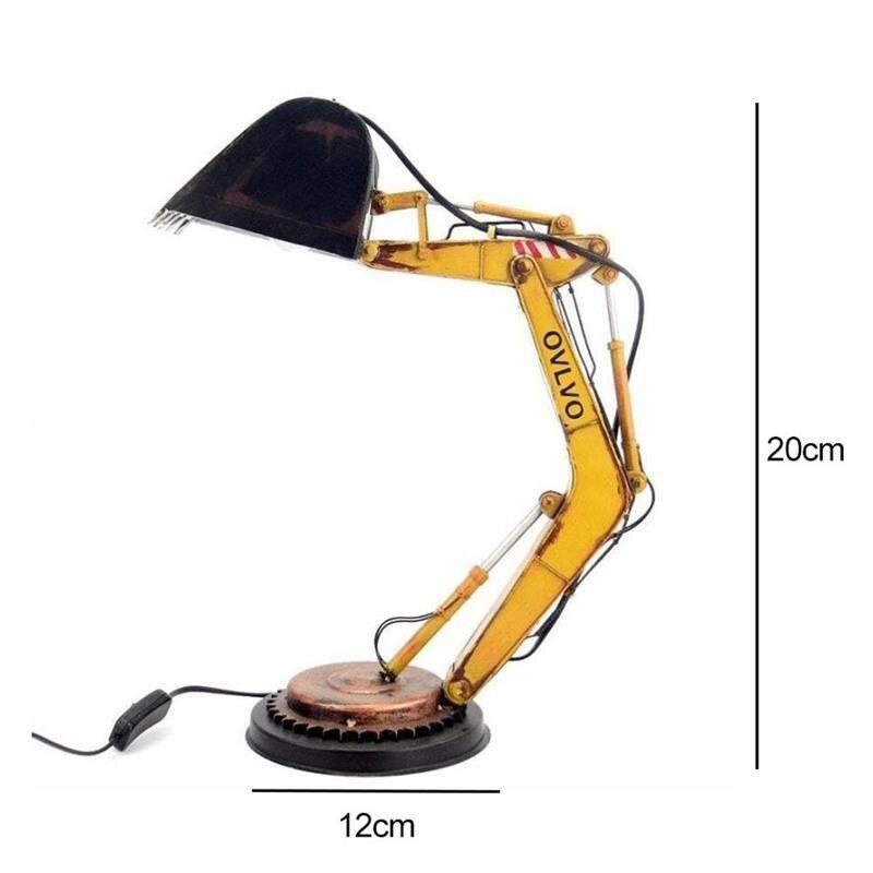 الرجعية الإبداع الحفار لمبة مكتب LED ليلة ضوء مصباح السرير لمبة مكتب للمنزل المنزل غرفة نوم الديكور