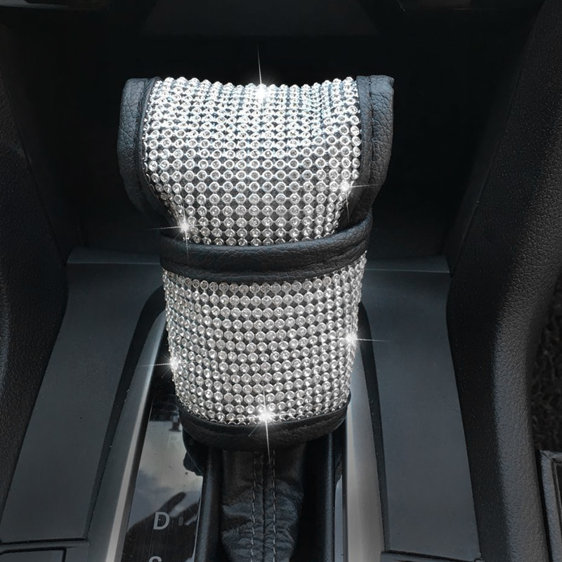 Bling Bling Rhinestones Crystal Car Steering Wheel Cover Auto Accessories kits Car Styling for girls enlarge