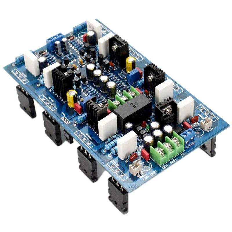 AB18 2SA1943 / 2SC5200 عالية الطاقة 300 واط + 300 واط المزدوج قناة مكبر كهربائي مجلس