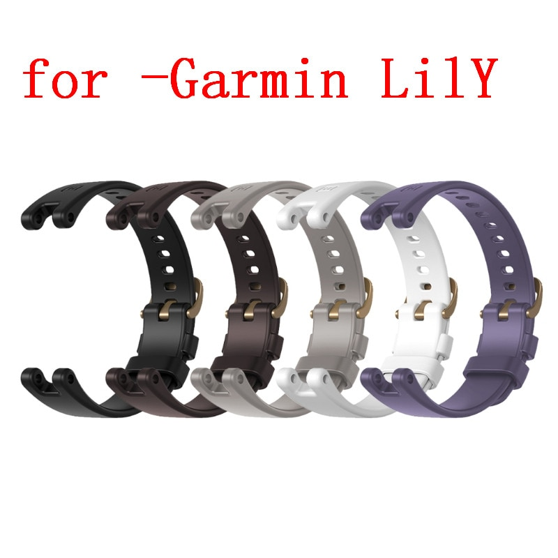 Strap Silicone Bracelet For -Garmin LilY Smart Watch Replacement Wristband Watchband Accessories