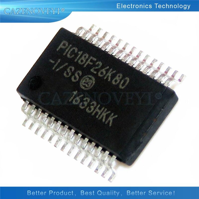 10 قطعة/الوحدة PIC18F26K80-E/SS PIC18F26K80-I-SS PIC18F26K80 SSOP-28 في الأسهم