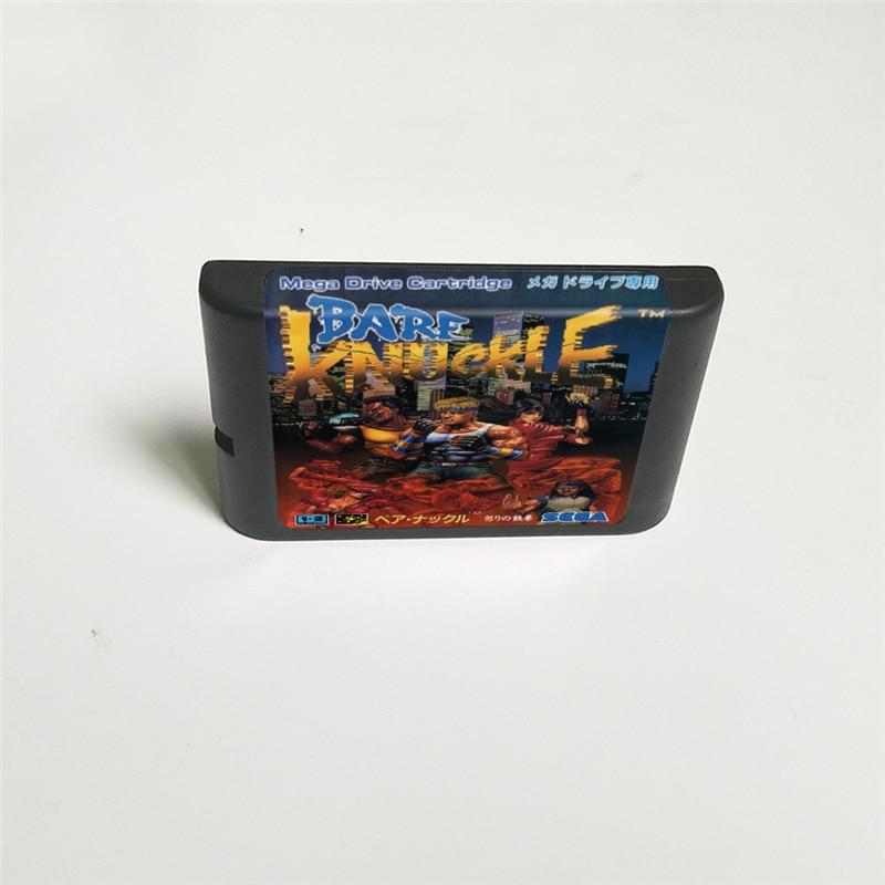 Bare Knuckle - 16 Bit MD Game Card for Sega Megadrive Genesis Video Game Console Cartridge