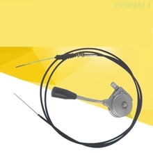 Для hyundai R60 7 Daewoo Doosan DH55 7 60 7 экскаватор ручной дроссельной заслонки ручка тяга кабель экскаватор аксессуары