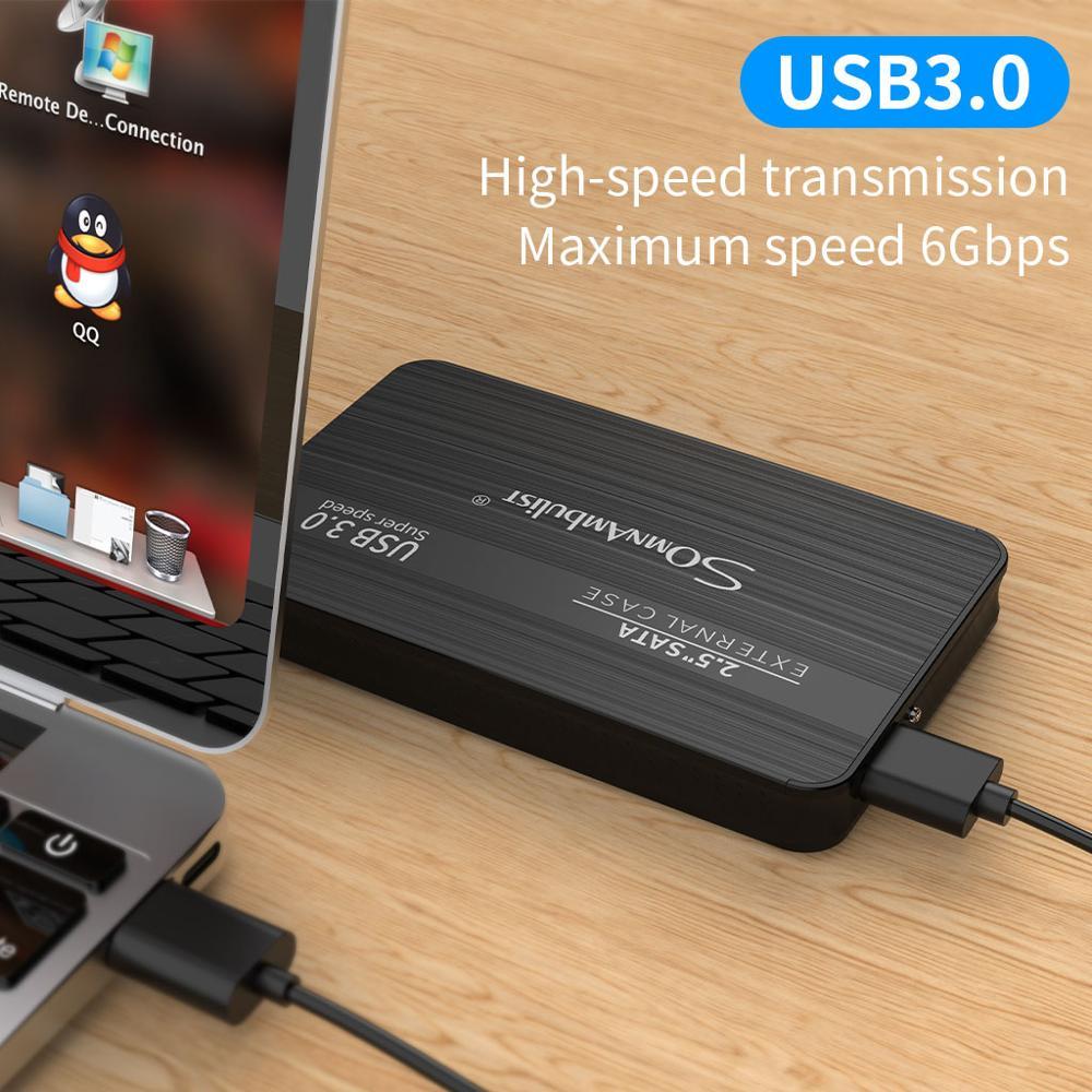 Внешний жесткий диск 2.5 портативный жесткий диск HD Externo 1 ТБ 2 ТБ USB3.0,