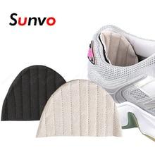 Scarpe da donna protezione tallone adesivo per scarpe da ginnastica scarpe da corsa riduttore di dimensioni impugnature per tallone inserti antiusura cuscino per cuscino