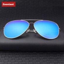 ZEONTAAT Classic Aviation Sunglasses Men Sunglasses Women Driving Mirror Male and Female Sun glasses