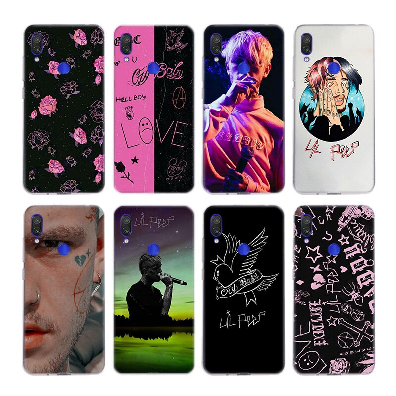 Lil Peep hellboy Life is Beautiful Cry Baby, funda de silicona para Xiaomi Redmi Note 9 8 7 6 5 Plus 4 Pro 7A S2 6A 5A K30, carcasa trasera de TPU