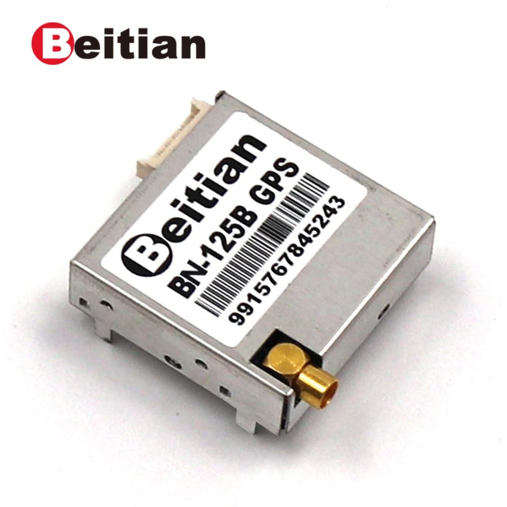 BEITIAN, IPC PPS 9600bps 5,0 В 1,25 мм, 6-контактный разъем, 1 Гц, 4 м, модуль FLASH GPS GLONASS с внешней антенной, в том числе и с внешней антенной, в том числе и с