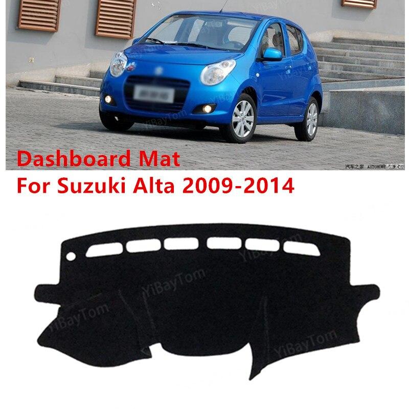 For Suzuki Alto 2009 - 2014 Anti-Slip Mat Sunshade Dashmat Protect Carpet Dashboard Cover Pad Accessories