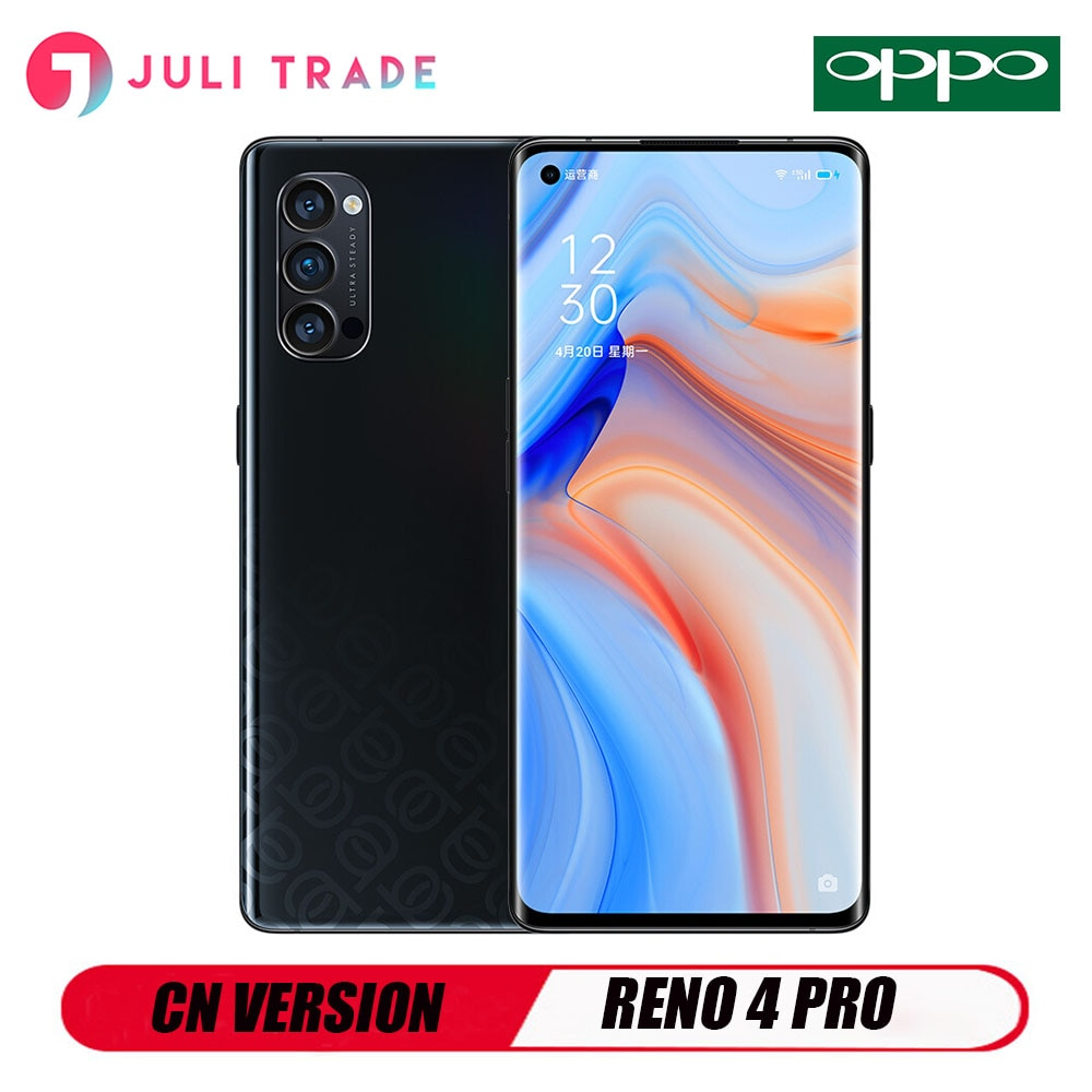 OPPO RENO 4 PRO 5G Smartphone 6.5 Inch OLED Snapdragon 765G 48MP Camera Fast Charging 65W NFC
