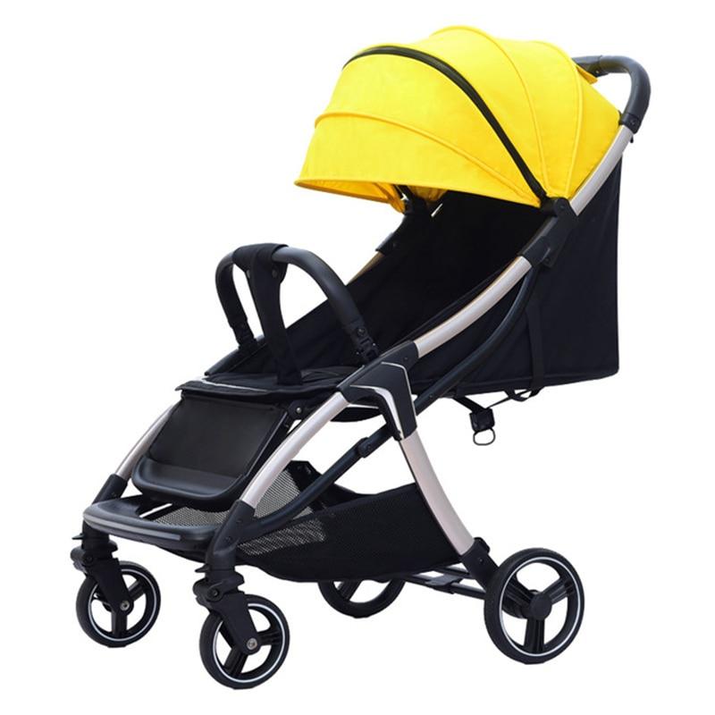 Baby stroller Foldable stroller Portable Strollers for children Baby cars Four-wheel push stroller Travel stroller free shipping enlarge
