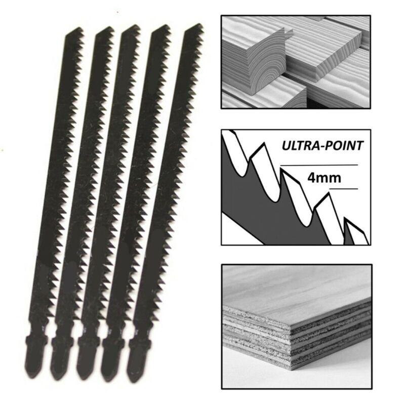Set Saw Blades Industrial Tools Equipment Jigsaw 6Pcs Fast Cutting Plastic