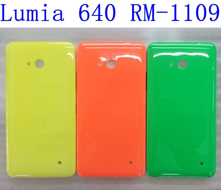 Para Nokia Lumia 640, carcasa trasera de batería, reemplazo de cubierta de...