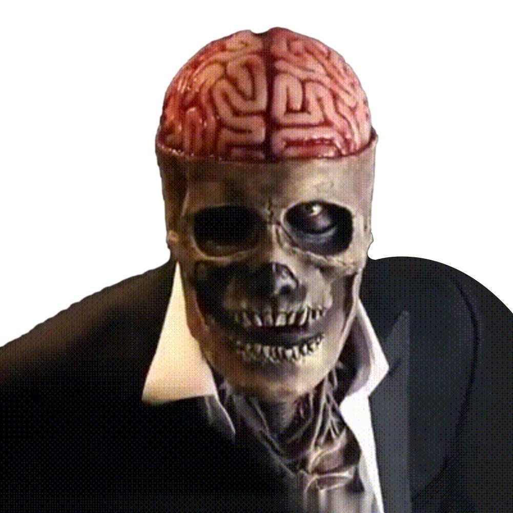 Страшная маска персонажа, маска на Хэллоуин, новейшая маска скелета, биохимическая маска, клоун, актер, Волшебная Шляпа, маска, шляпа опциона...