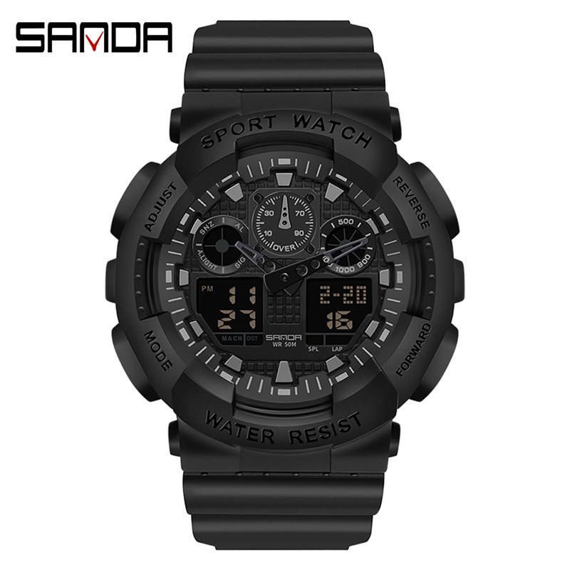 Electronic watch waterproof women's watch sports watch LED watch women's watch electronic watch enlarge