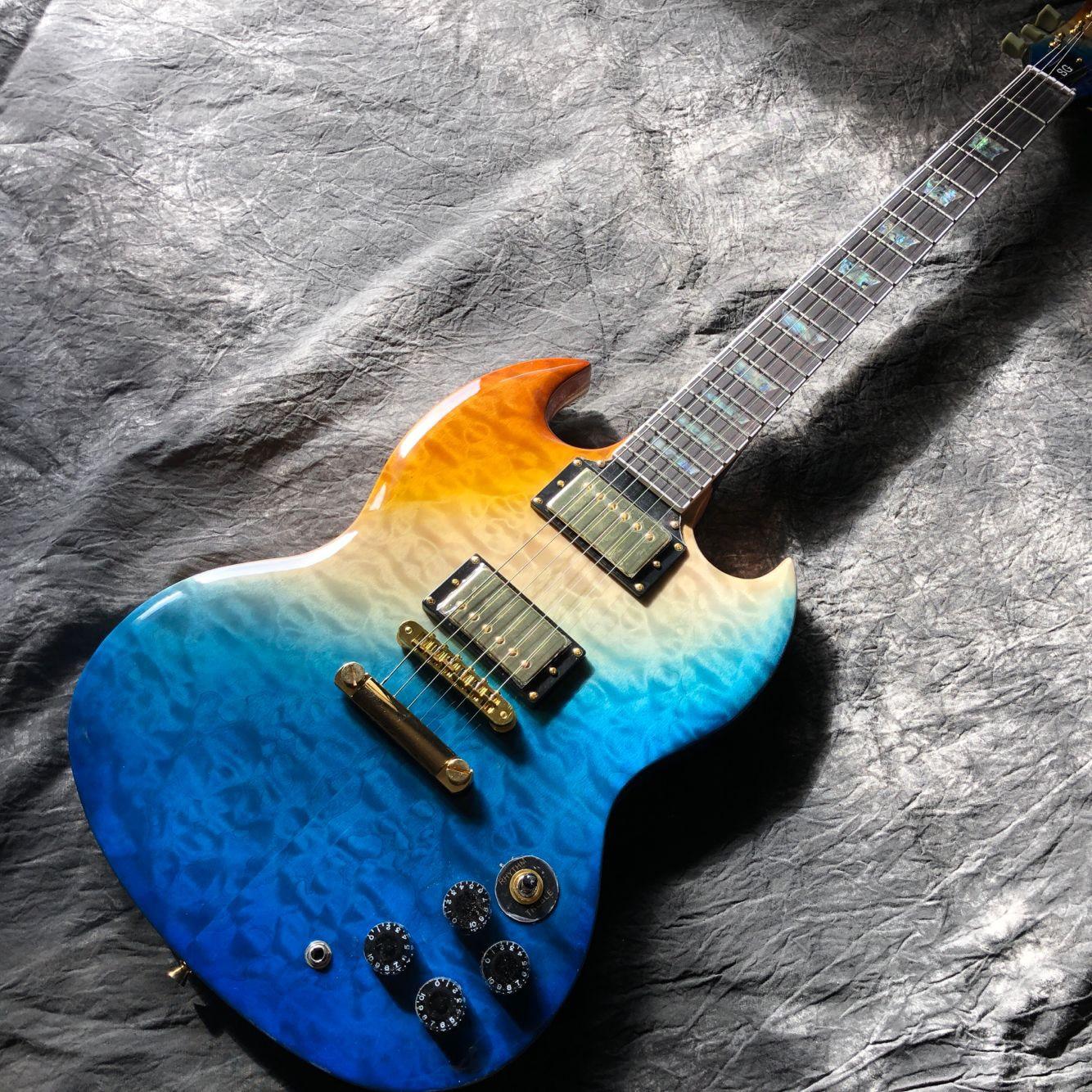 New standard Custom.Flame top electric guitar.Rosewood fingerboard gitaar,Golden hardware.handwork 6 Strings guitarra.